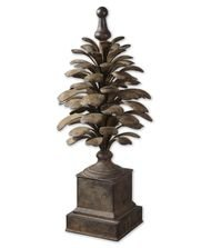 Small Suzaha 27-inch Finial by Uttermost