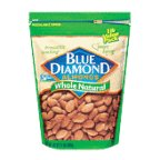 Blue Almonds Whole Natural 16OZ (Pack of 12)
