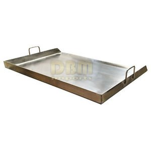 Heavy Duty 35'' Stainless Steel Flat Top Flattop Griddle Grill for Triple Burner by Generic (Image #2)