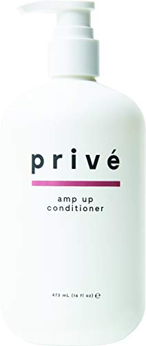 Privé Amp Up Conditioner (16 Fluid Ounces / 473 Milliliters) - Infuse Hair With Weightless Volume...
