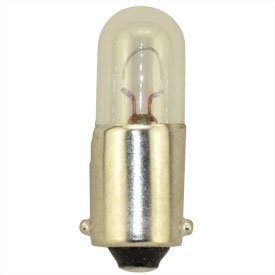 Replacement for 1891 Miniature .24 AMPS 14V BA9S Light Bulb 10 Pack