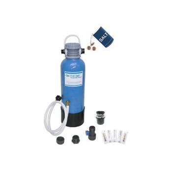 Portable Water Softener 12, 800 Grain Capacity, Perfect