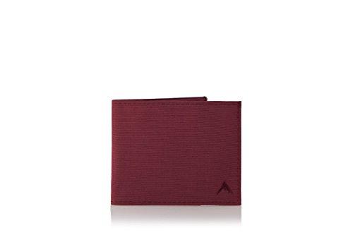 Nylon Trek Wallet (Oxblood)