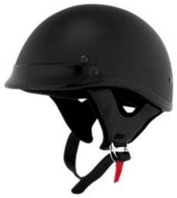 Skid Lid Helmets SL TRADITIONAL FLT BLACK SIZE:MED Motorcycle HELMETS