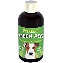 Green Peez. Lawn Burn Patch Prevention Saver for Brown or Burnt Grass Caused by Dog Urine. 100ml. Six month supply for medium dog. Add to Food. by Green Peez