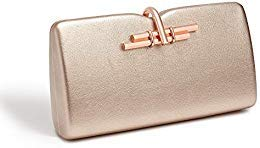 LaBante - Allegro- Clutch Purses for Women - Rose Gold Purse Vegan Purse Evening Bag Hand Purse Evening Clutch Box Clutch Party Purses for Women Small Bag