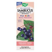 Natures Way Sambucus Kid Syrup Brry For Sale