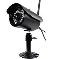 First Alert D-520 Single Digital Wireless Indoor/Outdoor Camera (Black) - First Alert Security System