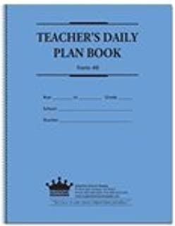 amazon com teachers daily reference planner teachers calendars