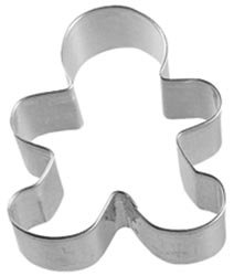 Bulk Buy: Wilton Metal Cookie Cutter 3-Gingerbread Boy (12-Pack)