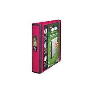 amazon com staples better mini binder 5 1 2 x 8 1 2 1 pink