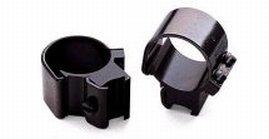 (Weaver .22 Caliber 1-Inch Tip-Off Rings (Black))