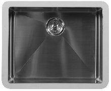 Stainless Steel Sinks, Edge Series Undermount Style With Seamless Integration, Single Bowl, ADA Compliant by handyct