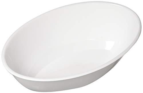 White Swirl Plastic Bowl | 2.3 Qt.
