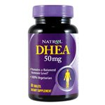 Natrol - DHEA 50 mg. - 60 comprimés