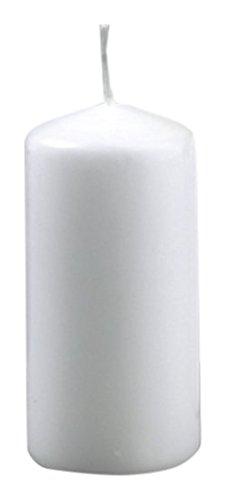 efco, candela in cera bianca, 50mm x 100mm 3509001