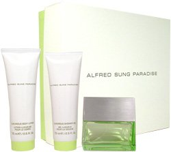 Paradise by Alfred Sung for Women 3 Piece Set Includes: 1...