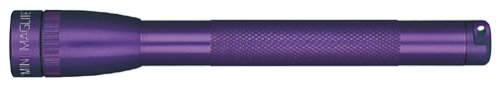 - Maglite Mini Incandescent 2-Cell AAA Flashlight, Purple
