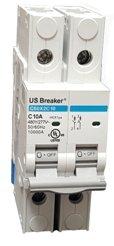 6a Circuit Breakers - US Breaker 2P 6A UL489 DIN Rail Circuit Breaker 10KA @ 480/277V