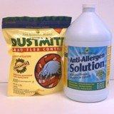 Dust Mite & Flea Control, 2 lb, and Anti-Allergen Solution, 1 Gallon