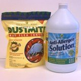 Dust Mite & Flea Control, 2 lb, and Anti-Allergen Solution, 1 Gallon