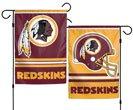 Washington Redskins Double Sided Garden Flag
