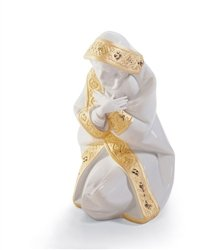 Lladro Porcelain Figurine Mary Re ()