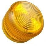 Eaton 10250TC3N Pilot Device, 30mm, Lens, Yellow, Plastic, Indicator by Eaton