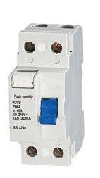 fi schutzschalter 25A FI - Schalter 2 polig 25A 30mA Fehlerstromschutzschalter Typ A MKV FI-2P25A