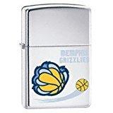 - Zippo 2007 NBA National Basketball Association High Polish Chrome Lighter (Regular, Memphis Grizzlies)
