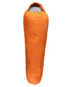"""Saco de dormir Ultralight Medium cremallera izquierda """", hombre mujer, naranja,"""