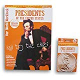 Presidents of the United States Discovery Workbook with Reward Stickers and Flash Card Bundle - Grades 2-4 - 2017 Edition (American President Flash Cards)