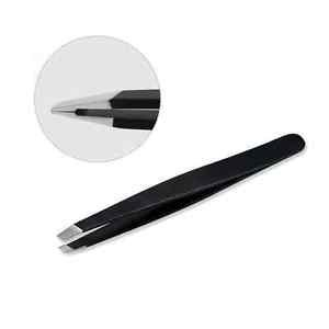Perler Ornaments (Eyebrow Tweezers Hair Removal Stainless Steel Slant Tip Eyebrow Clip Makeup Tool)