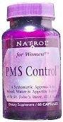 Natrol PMS Control - 60 Capsules, 3 Pack (image may vary)