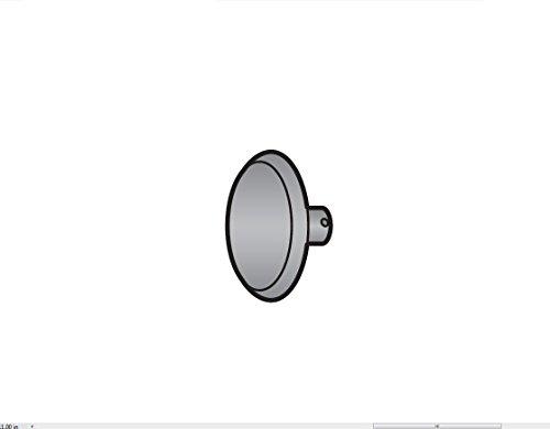 Center-Plate Part for Berkel Slicers - Spacer Plug, Pkg./2