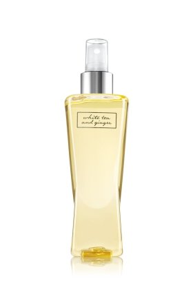 Bath & Body Works White Tea And Ginger Body Splash Pleasures Collection 8 (Ginger Tea Scent)