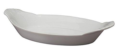HIC Porcelain Oval Au Gratin