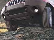 2011-2012 Jeep Grand Cherokee Skid Plates - Transfer Case Transfer Case Skid Plate