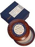 Spanish Fig & Nutmeg by Bath House Shaving Soap 3.3 oz ()