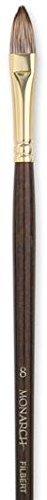 Monarch Filbert Long Handle - Winsor & Newton Monarch Brushes (Size: 8) - Filbert (Long Handle) 1 pcs sku# 1841993MA