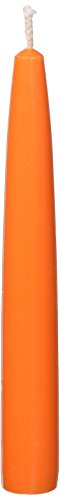 Orange Taper Candles (Zest Candle 12-Piece Taper Candles, 6-Inch, Orange)