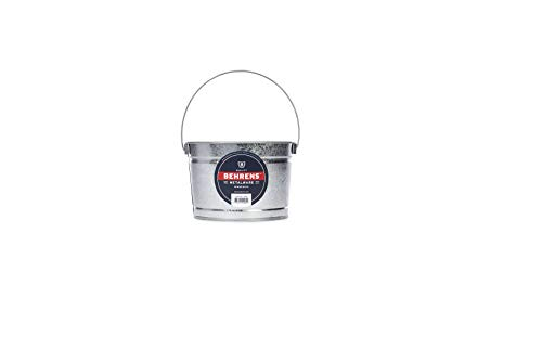 Behrens B325 Galvanized Steel Paint Pail, 2.5 Quart, Silver from Behrens
