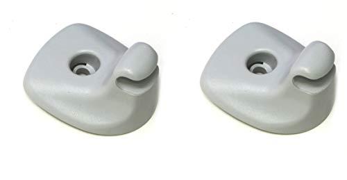 2 Pack Aftermarket Car Visor Support Clip Compatible with 2007-2010 Chrysler Sebring and Dodge Avenger | JSP BRAND