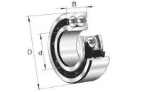 NSK 3206B-2ZTN Double Row Angular Contact Bearing NSK Ltd.