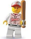 Lego: Minifigures Series 3 > Baseball Player Mini-Figure