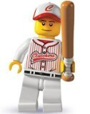 - Lego: Minifigures Series 3 > Baseball Player Mini-Figure