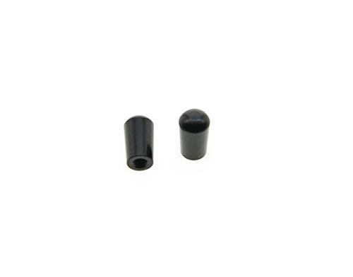 KAISH M3.5&M4 Black Metal LP Guitar 3 Way Toggle Switch Tip Pickup Switch Knob for Epiphone Les Paul