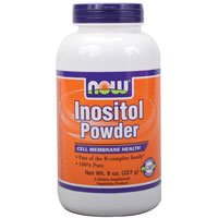 Inositol, PURE POWDER, 8 OZ by Now Foods (Pack of 6) by NOW Foods