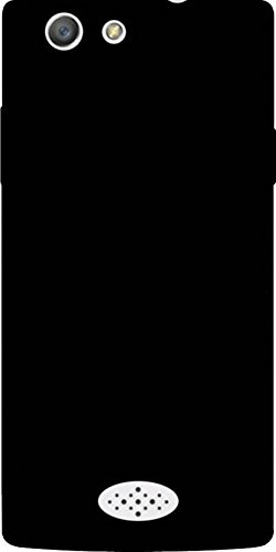 Cover Wala Oppo Neo 5 Plain Black Hard And Stylish Back