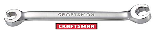 Craftsman Flare Nut Wrench, full polish, Metric MM Size (13mm X 14mm)